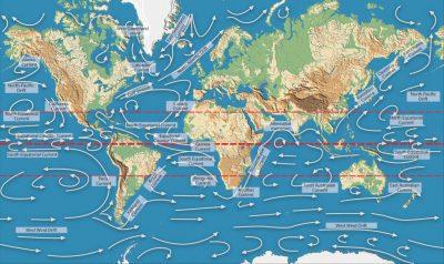 环境百科全书-缓慢而强大的大洋环流-洋流的多样性图示