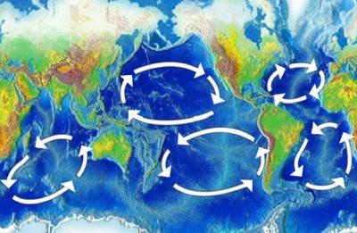 环境百科全书-缓慢而强大的洋流环境-发生塑料污染积累的5个主要流涡