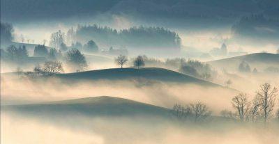 brouillard - brouillard collines