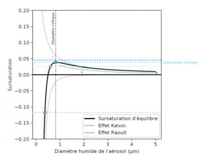 theorie kohler - effet kelvin - effet raoult