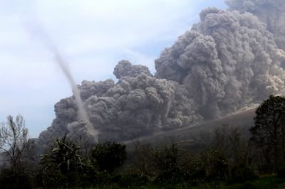 volcanoe Sinabung