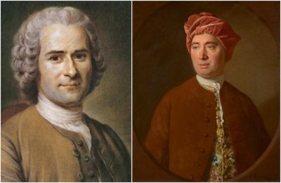 jean jacques rousseau - david hume