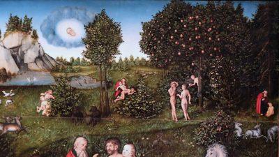 la paradis cranach le vieux 1530