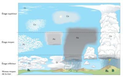 types nuages - classification nuages - genre nuages