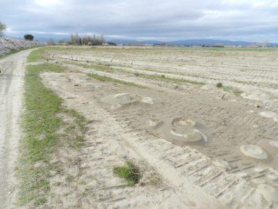 erosion sol - tumulus sable