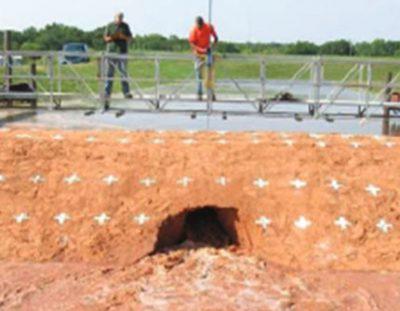 essai erosion sol