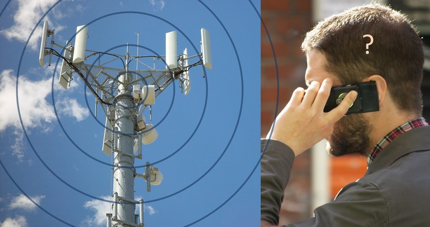 Radiofrequences antenne mobile