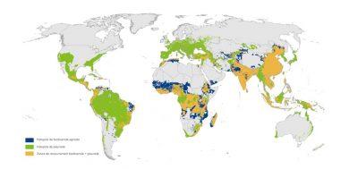 recouvrement biodiversité pays sud