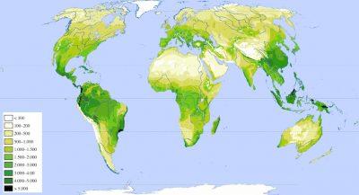 repartition mondiale biodiversité