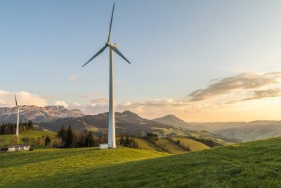 aerogenerateurs composants gisement eolien