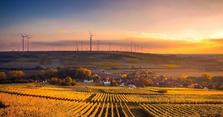 impacts production électricité éolienne